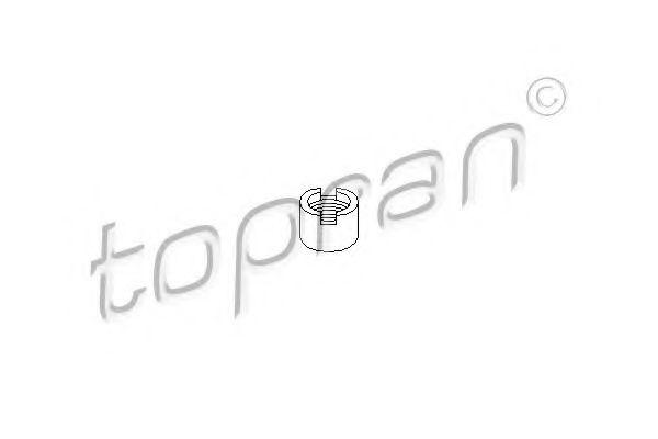 РЕЗЬБОВАЯ ВТУЛКА ОПОРЫ СТОЙКИ GOLF II,PASSAT 8/80-;AUDI80 8/ JP GROUP арт. 104149