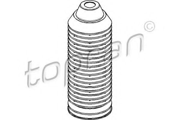 Пильник амортизатора TOPRAN 103496