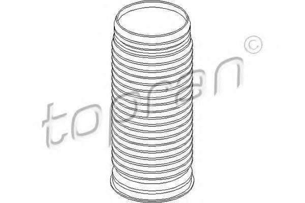 Пильник амортизатора TOPRAN 110153
