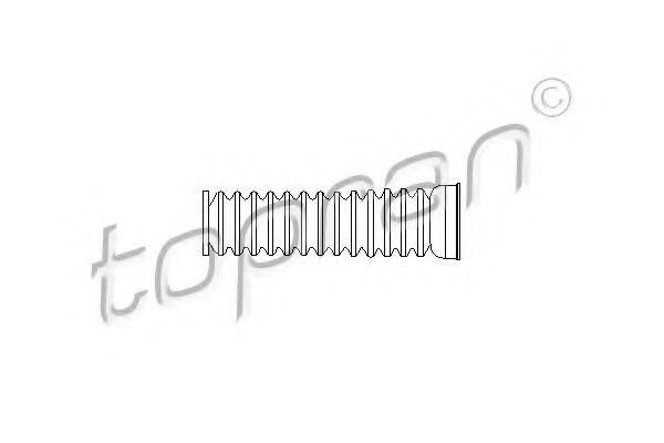 Пыльник рулевой рейки Чохол захисний HANS PRIES арт. 104154