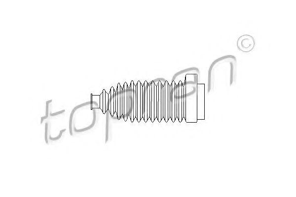Пыльник, рулевое управление MEYLE арт. 103504