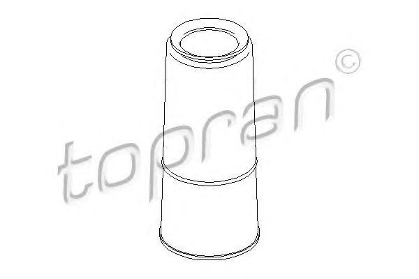 Защитный колпак / пыльник, амортизатор TOPRAN 104344