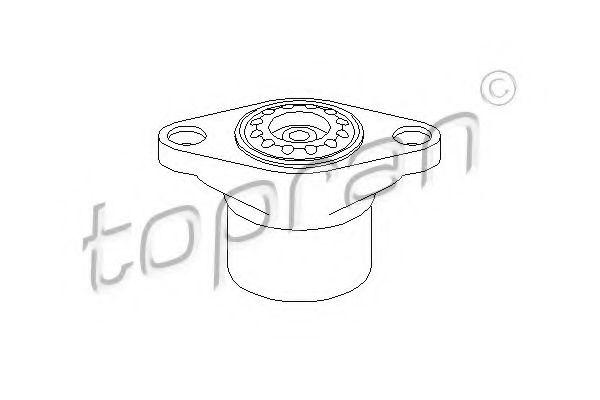 Опорна подушка ам-тора зад. VW Passat 11.00-05.05 Skoda TOPRAN 109879