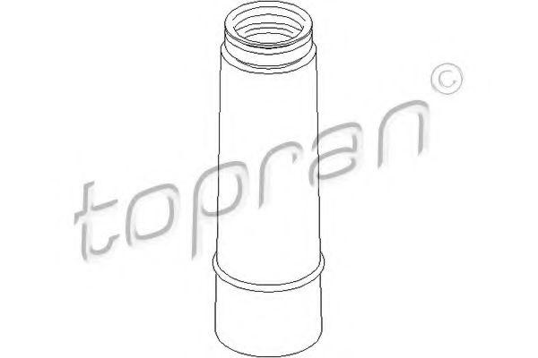 Пильовик ам-тора зад. Skoda Yeti 1.4 TSI 2010- TOPRAN 111536