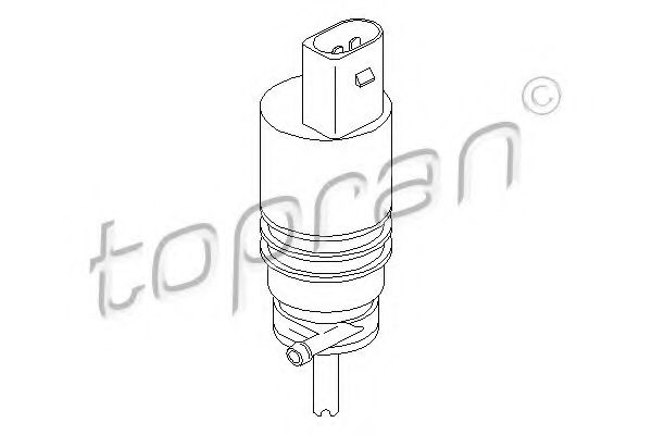 WINDOW WATER PUMP TOPRAN 107818