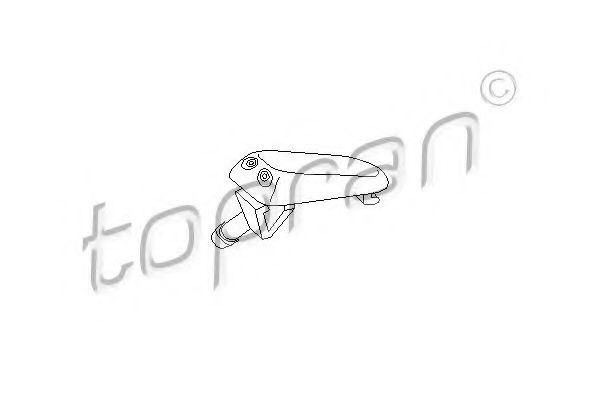 Розпилювач омивача TOPRAN 102968