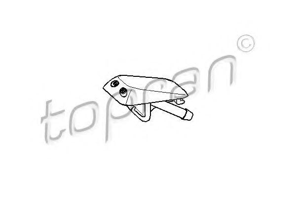 Розпилювач омивача TOPRAN 104439