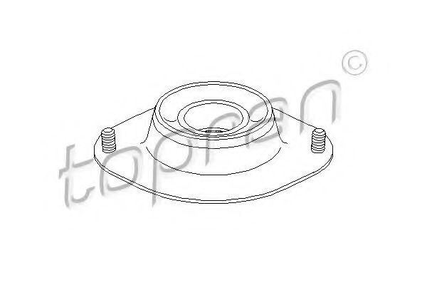Кріплення амортизатора передн.к-кт Opel Kadet TOPRAN 200439