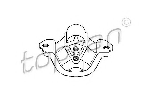 Подушка двигуна Opel Corsa B/Tigra1,2/1,4 OHC  TOPRAN 201393