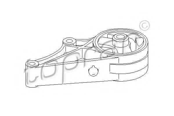 Подушка двигателя спереди OPEL SIGNUM, VECTRA C 02- TOPRAN 206579