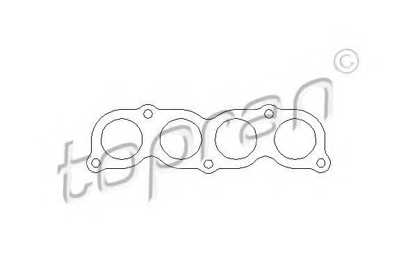 Прокладка, впускной коллектор ELRING арт. 205372
