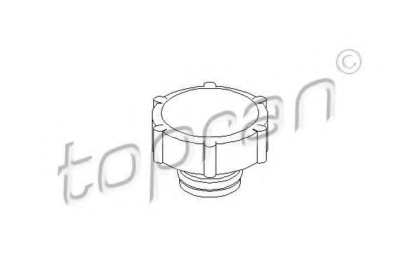 Кришка радіатора  арт. 300927