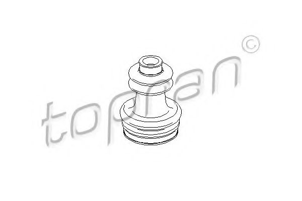 Комплект пильовиків гумових  арт. 301250