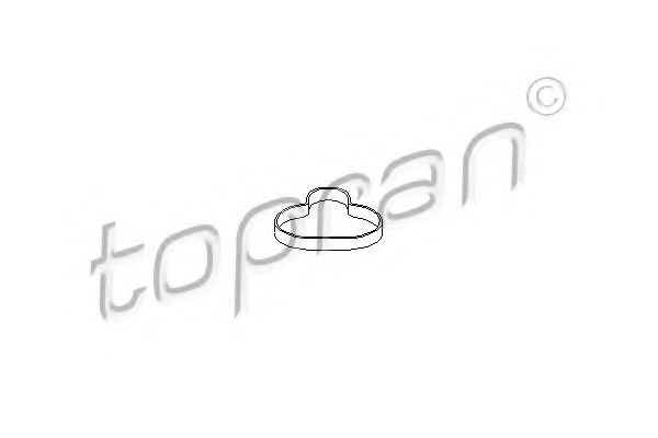 Прокладка, впускной коллектор  арт. 301853