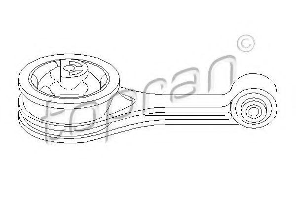 Подвеска, двигатель  арт. 302388