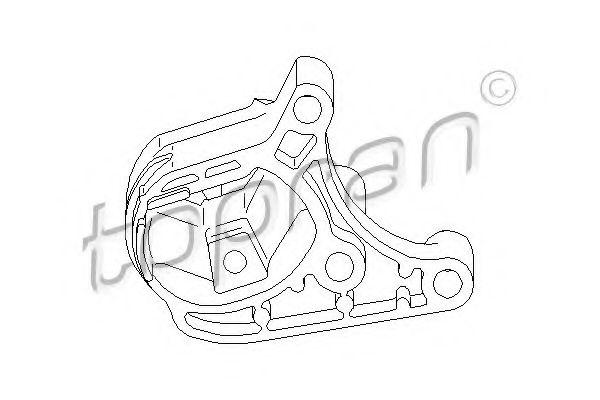 Подвеска, двигатель  арт. 301808