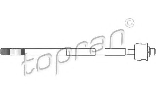 INNER TIE ROD TOPRAN 301384