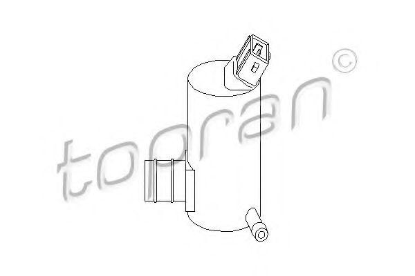 Водяной насос, система очистки окон  арт. 300634