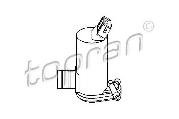 Водяной насос, система очистки окон  арт. 300635