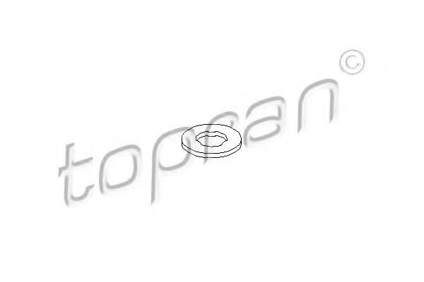 Шайба тепловой защиты, система впрыска SWAG арт. 401502