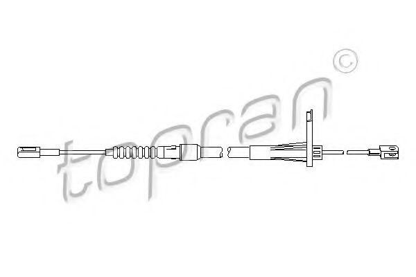 Трос, тормозной механизм рабочей тормозной системы арт.