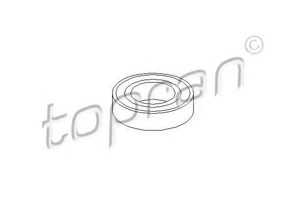 Опорний підшип.приводного валу  арт. 501617
