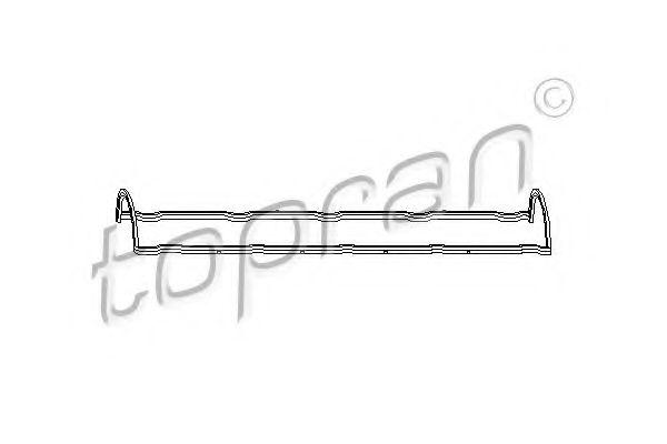 Прокладка клапанной крышки Citroen Berlingo,Xantia,ZX Peugeot 1.6,1.8  99-02 TOPRAN арт. 720107