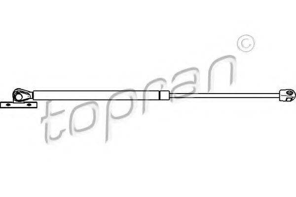Амортизатор капота TOPRAN 207741