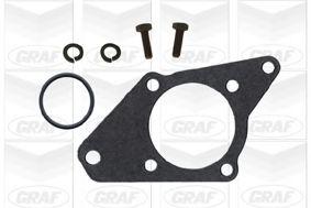 Водяной насос Ducato 1.9TD (60kW) 94-02 (-AC) GRAF PA647