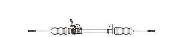 Рейка рулевая GENERALRICAMBI RE4049