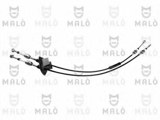 Трос КПП (к-кт) 1.2, 1.3 MJTD, 1.9 D, 1.9 JTD Doblo/Fiat  MALÒ 29523