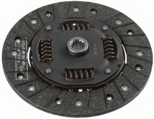 Ведомый диск сцепления SACHS 1878003999