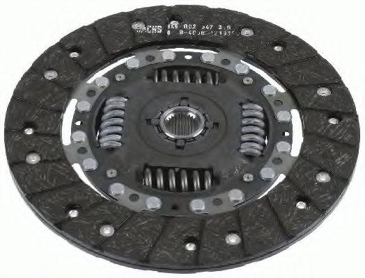 Ведомый диск сцепления SACHS 1878043141