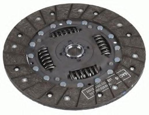 Ведомый диск сцепления SACHS 1862265031
