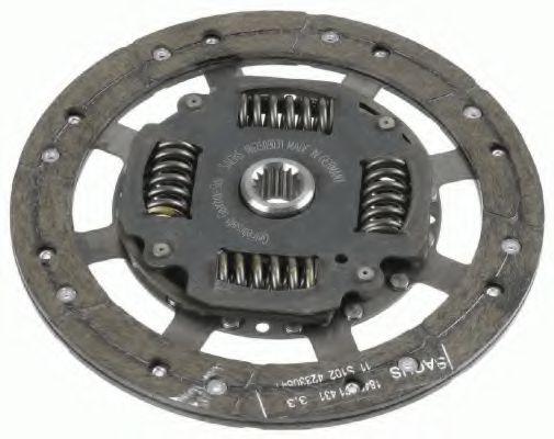 Ведомый диск сцепления SACHS 1862509031