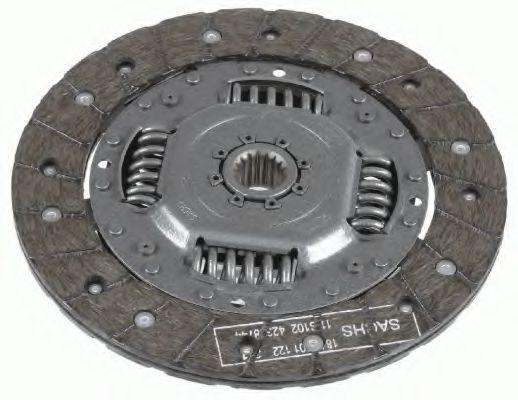Ведомый диск сцепления SACHS 1878001816