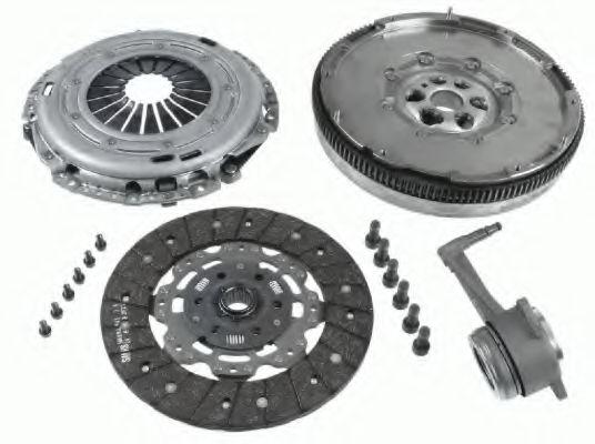 Сцепление+маховик AUDI A3, SEAT ALTEA XL, SKODA SUPERB II, VW PASSAT 1.616V-2.0TDI03- (Пр-во SACHS)