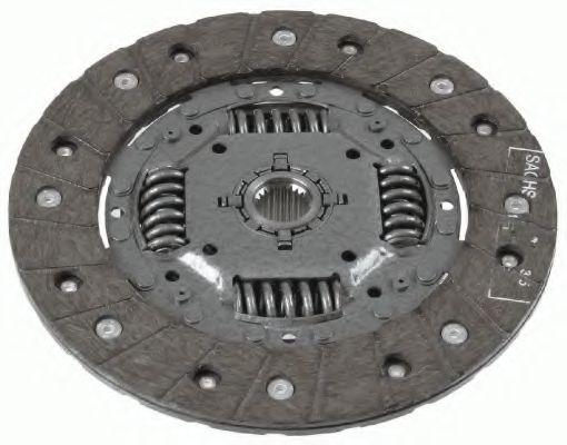 Ведомый диск сцепления SACHS 1862490031