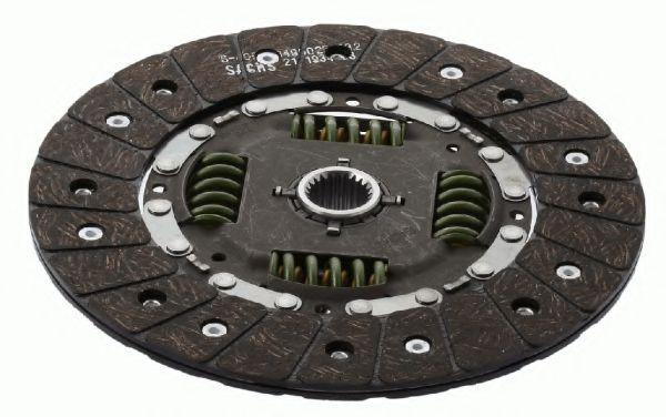 Ведомый диск сцепления SACHS 1862347131