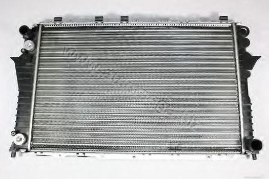 Радіатор Audi 100. A6 2.6-2.8 91-94 АКПП AUTOMEGA 3012102514A0M