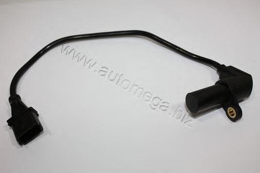 Датчик положения коленвала Opel Astra G, Vectra B, Zafira 1.6i 16V, 1.8 16V 10.95-07.02 AUTOMEGA 3062380459