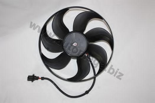 Вентилятор радиатора VW Bora,Golf 98- Audi A3 96- AUTOMEGA 3095904556E0A