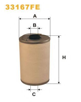 Топливный фильтр WIXFILTERS 33167FE