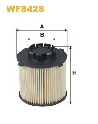 Фильтр топл. OPEL ASTRA J, INSIGNIA (пр-во WIX-Filtron)                                               арт. WF8428