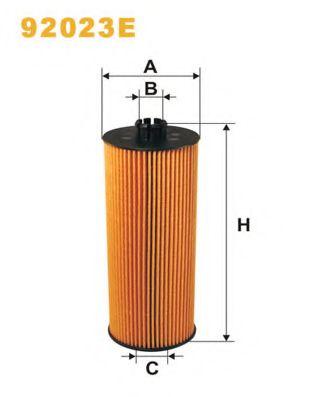 Фильтр масляный MAN F2000 (TRUCK) OE646/92023E (пр-во WIX-Filtron)                                    арт. 92023E
