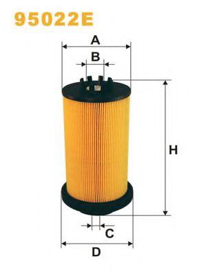 Фильтр топлива 5410900051 DB-ACTROS 1831/35/40/43/48/53/57 WIXFILTERS 95022E
