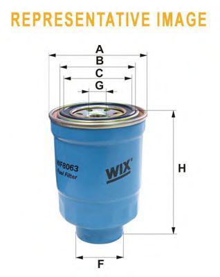 Фильтр топливный (PP 855/1)  арт. WF8419