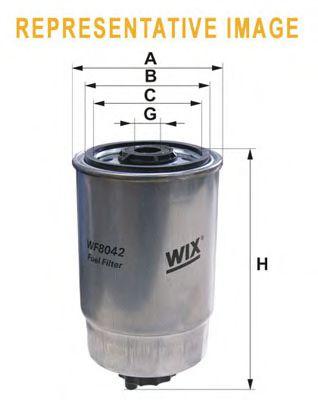 Фільтр палива  арт. WF8398