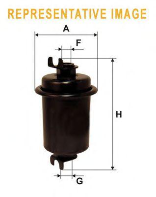 Фильтр топливный  арт. WF8076