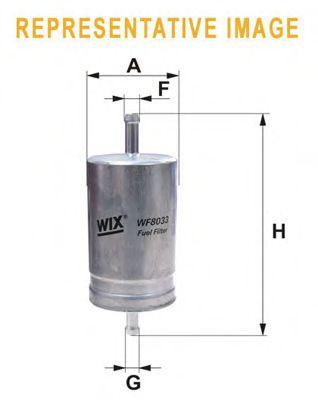 Фильтр топливный (PP 836/1)  арт. WF8041